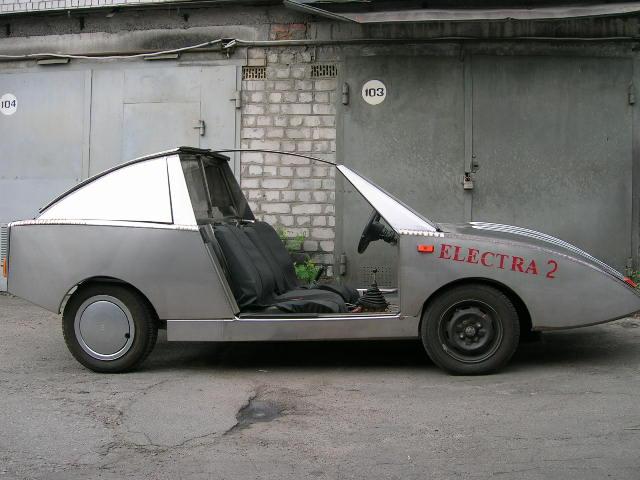 Первый свой электромобиль
