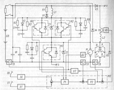 принципиальная схема микроконтроллера