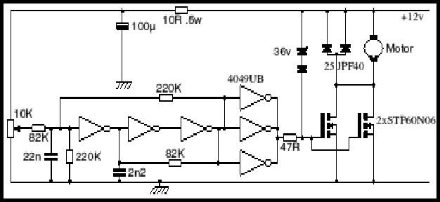 Схема простого контроллера