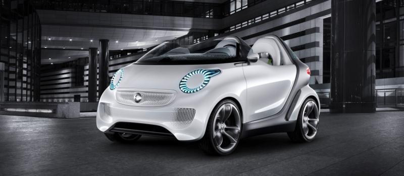 Smart Forspeed на Женевском автосалоне.