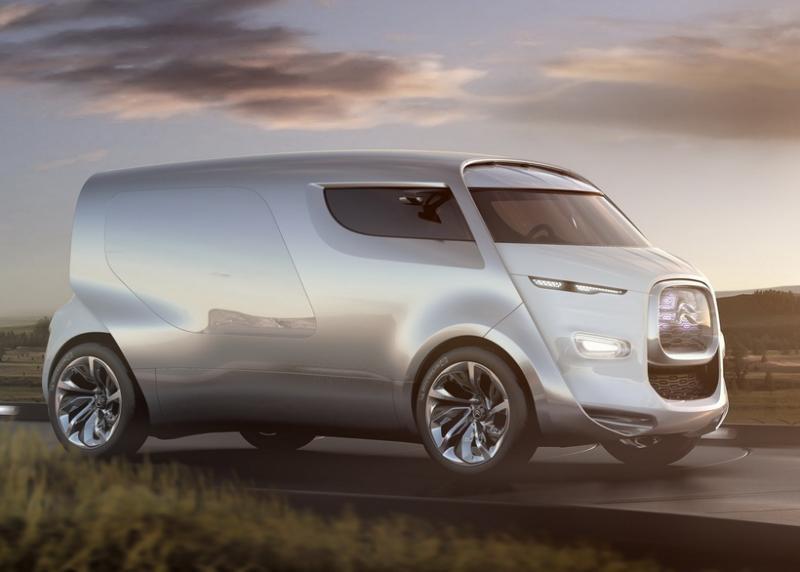 Citroen Tubik Concept на Франкфуртском автосалоне 2011