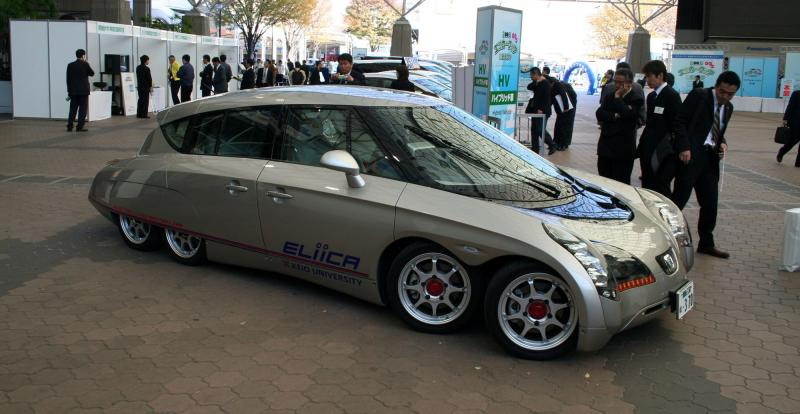 Eliica (Electric Lithium-Ion Car)