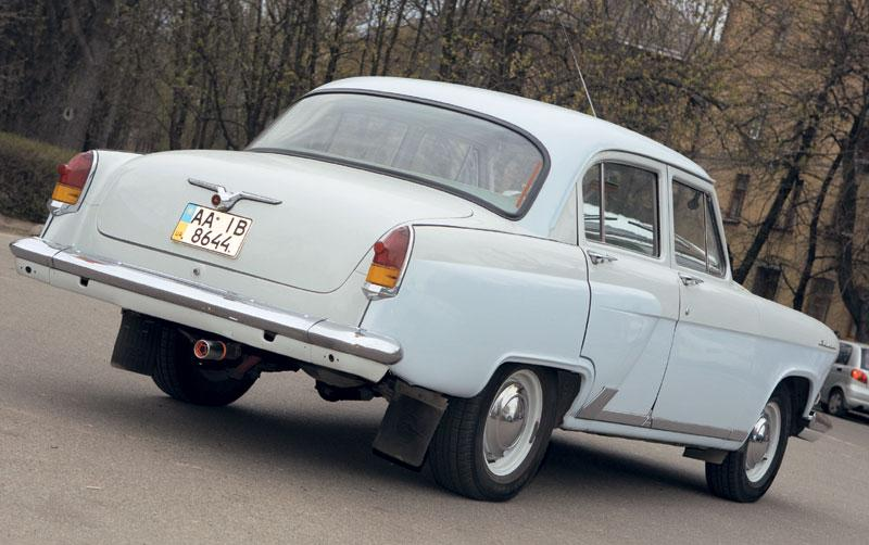 Электромобиль ГАЗ М-21