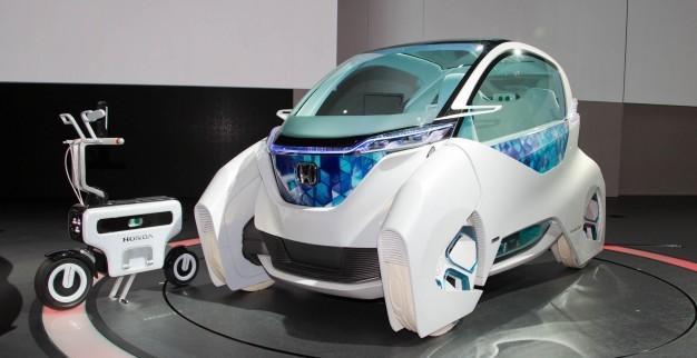 Концеп-кар Honda Micro Commuter на Токийском автосалоне 2011