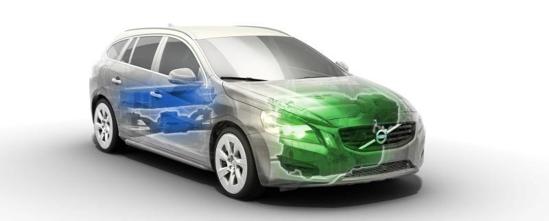 Volvo V60 Plug-in Hybrid на Женевском автосалоне