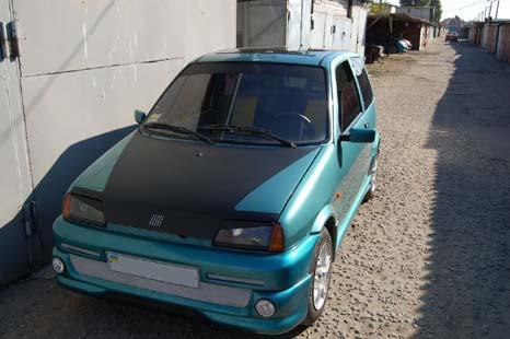 Электромобиль Fiat