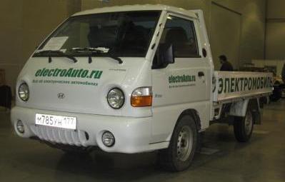 Электрический автомобиль Hyundai Porter