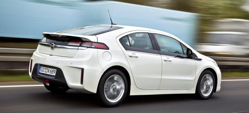 Opel Ampera на Женевском автосалоне