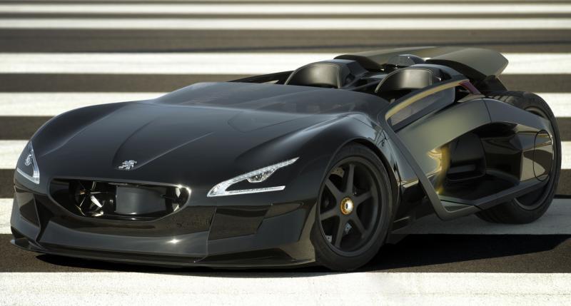 Концепт-кар Peugeot EX1