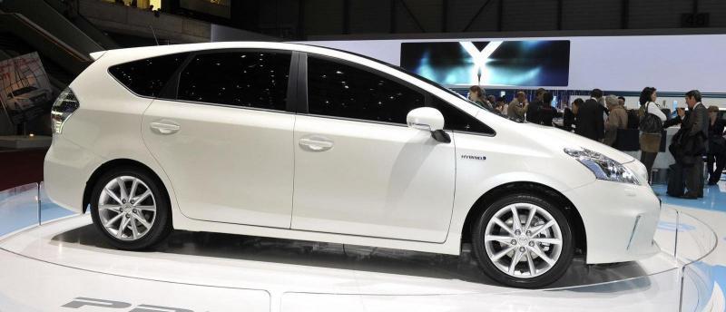 Toyota Prius+ на Женевском атосалоне