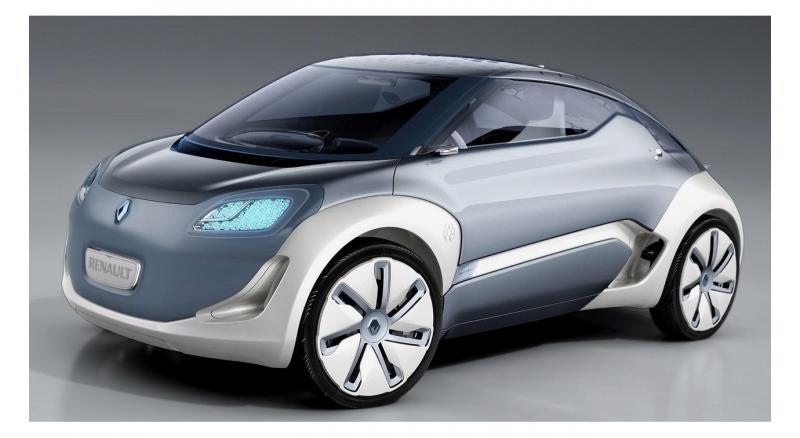 Концепт-кар Renault Zoe Zero Emission