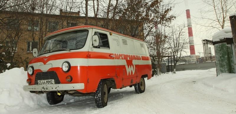 Электромобиль УАЗ-3801