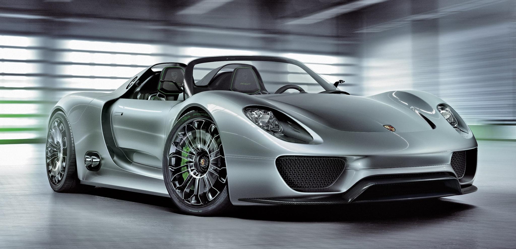 Porsche 918 Spyder Hybrid | Electro-machines.ru